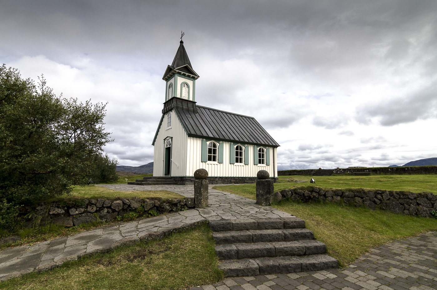 Þingvallakirkja Church, Iceland