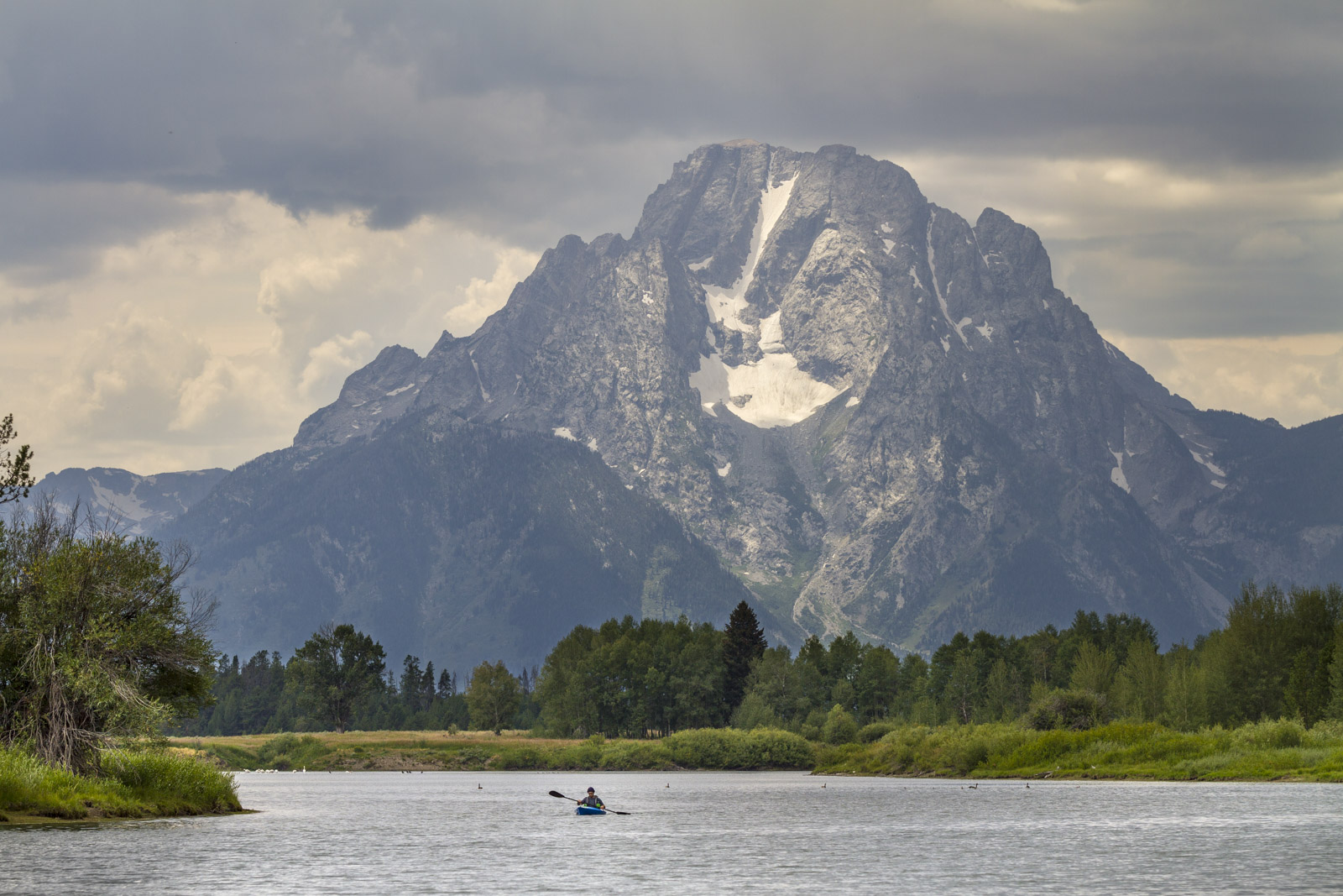 Mt. Moran, Teton National Park (USA)
